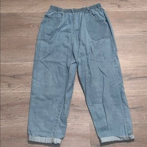 VINTAGE loose fit denim jeans